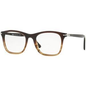 Persol Eyeglasses Brown Tortoise w/Demo Lens